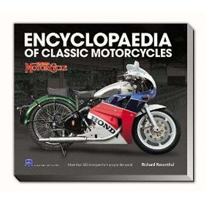The Encyclopaedia of Classic Motorcycles by Richard Rosenthal book paper