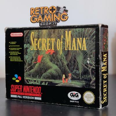 SECRET OF MANA GIG SNES SUPER NINTENDO