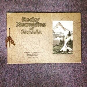 Rocky Mountains of Canada - 1930's photogravures, deluxe edition