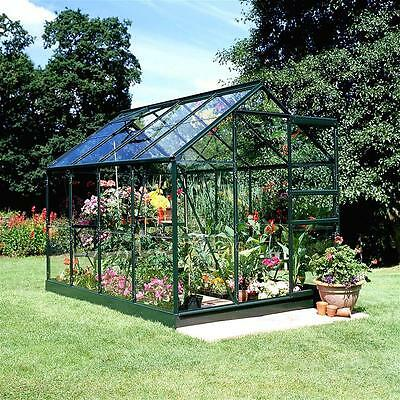 Gewächshaus Juliana Popular 86 5,0m² Alu grün 3mm Blankglas