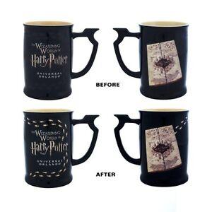 Wizarding-World-Of-Harry-Potter-Marauder-039-s-Map-Heat-Reactive-Coffee-Mug-New