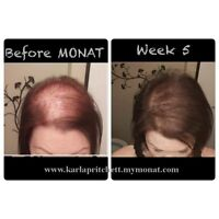 Monat -  For thicker healthier hair in just 90 days