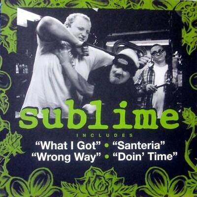 SUBLIME S/T SUBLIME ORIGINAL PROMO DS CD / LP COVER ART POSTER ENDING SOON
