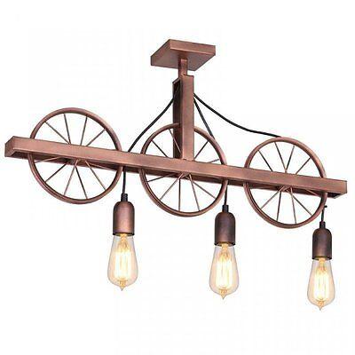 Deckenlampe Deckenleuchte Modern Industrial Design Lampe Wohnzimmer VINTAGE