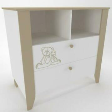 Commode Ourson (Ladekasten, Kasten)