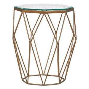 Urban Barn Stella Side Table - brass