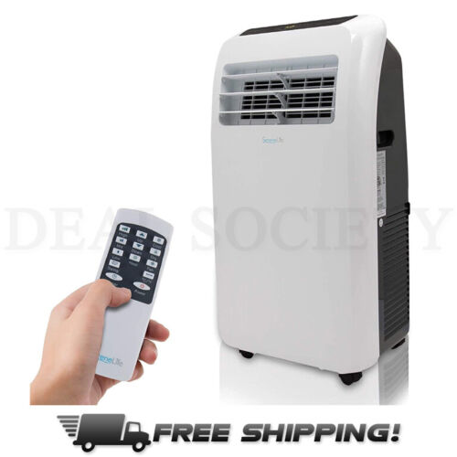 Portable Electric Air Conditioning System w/ Fan, Hose, Wheels, Remote SPF2-08C