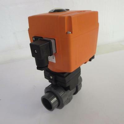George Fischer 199 107 215 1 Type 107 Electrically Actuated Ball Valve Pvc