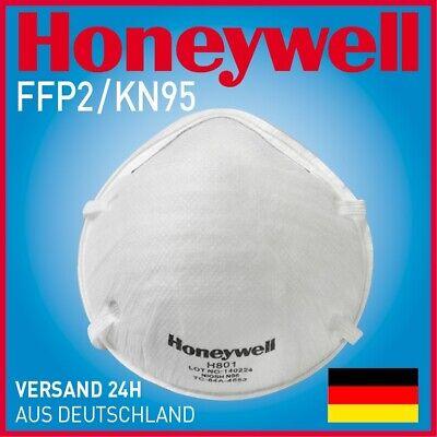 15 STÜCK HONEYWELL H 801 KN95/FFP2 ATEMSCHUTZMASKEN MIT NASENKLAMMER