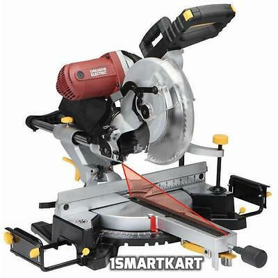 "12"" In Double-Bevel Sliding Compound Miter Saw With Laser Guide System"