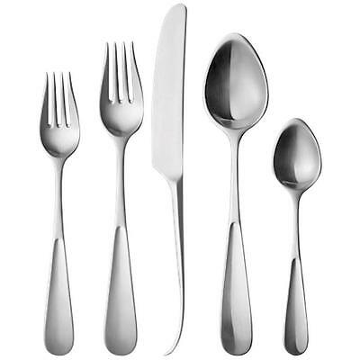 Vivianna by Georg Jensen Stainless Steel Flatware Set For 12 Service 63 Pcs New