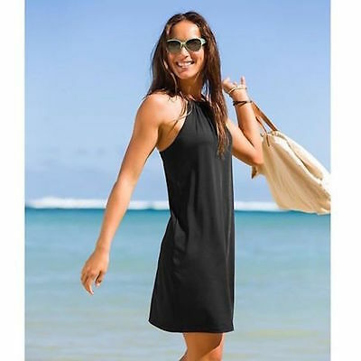 Athleta  Nwt Black Kokomo  Swim Dress   M