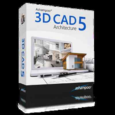 3D CAD Architecture 5 WIN Ashampoo dt.Vollversion ESD Download nur 14,99 EUR !