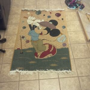 Mickey Mouse Rug Carpet ( 65 inches X 43 inches)