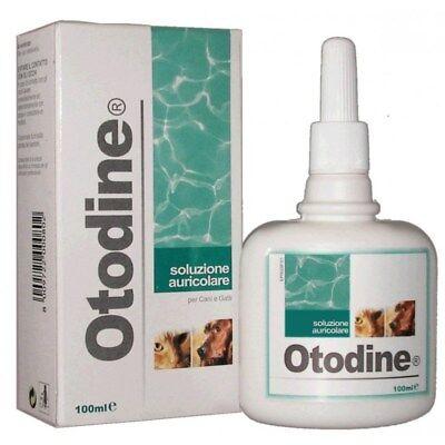 Otodine Soluzione Auricolare Ml.100 ICF Detergente orecchie Cani e Gatti Pulizia