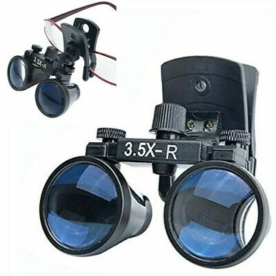 3.5x Dental Binocular Loupes Clip-on Loupes Magnifier For Glasses Us Stock