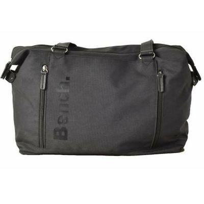 $46.50 - Brand Name Black Designer Tote By Bench - Unisex Gym Shoulder Bag Men's, Women's