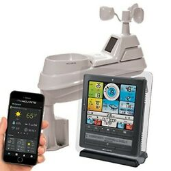 Wireless Weather Station 5-in-1 Weather Sensor Programmable Alarms Yard AcuRite