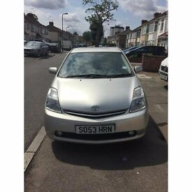 TOYOTA PRIUS 2004 FOR SALE SILVER T4 HYBRID £10 TAX AND MOT