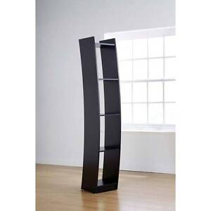 SALE:  Baroque Curved Bookcase in Black Melbourne CBD Melbourne City Preview