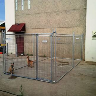 NEW Dog Puppy Animal Kennel Run Cage Enclosure Pen Fence Compound Leumeah Campbelltown Area Preview