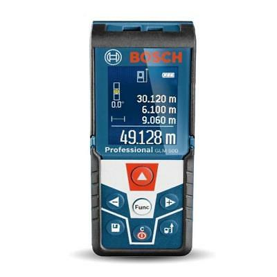 Bosch Glm 500 Professional Laser Distance Meter With Backlit Display