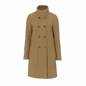 STEFANEL COAT WITH HIGH COLLAR