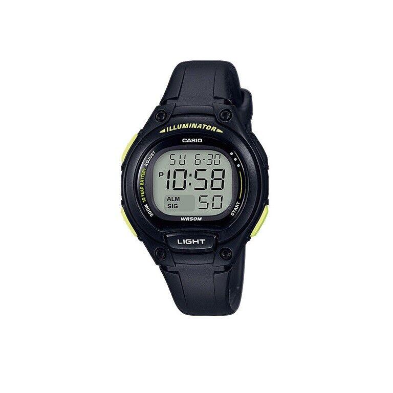 CASIO,LW-203-1BVEF in schwarz,Kinderuhr,Damenuhr,Digitaluhr,Armbanduhr,mit Alarm