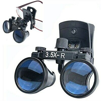 3.5x Dental Binocular Loupes Clip-on Loupes Medical Surgical Magnifier Us Stock