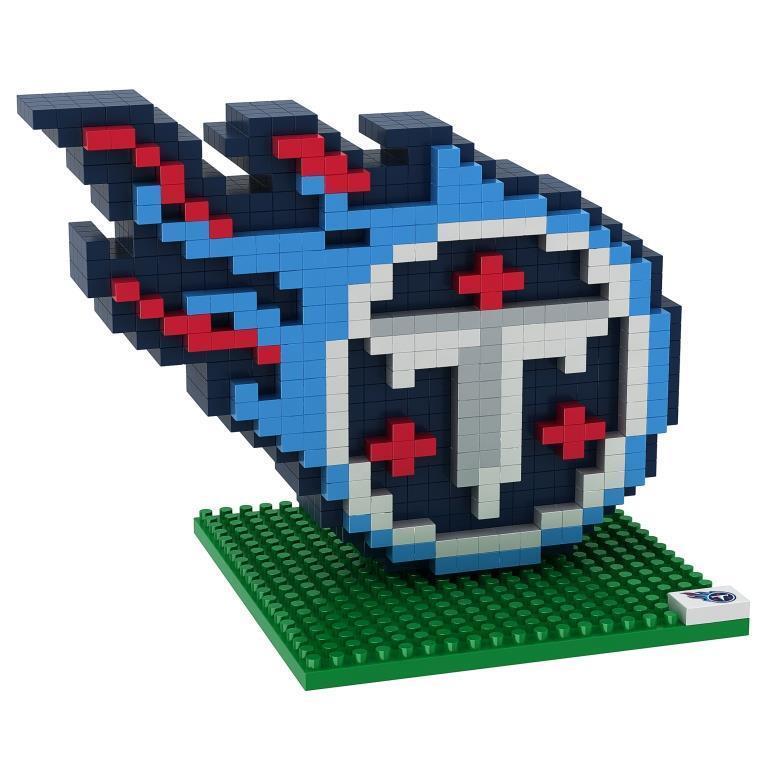 NFL Football 3D BRXLZ Team Logo Puzzle Construction Block Set - Pick Team!