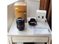 Nikon AF-S DX 16-85mm f/3.5-5.6G ED VR zoom lens. Boxed, perfect condition.