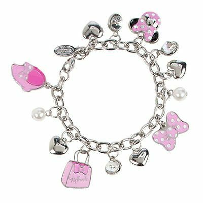 ++++ Original Disney - Minnie Maus Charm Bracelet Armband - NEU ++++
