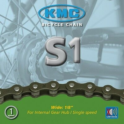 KMC S1 Kette Single Speed 1-fach, 112 Glieder, OVP, NEU