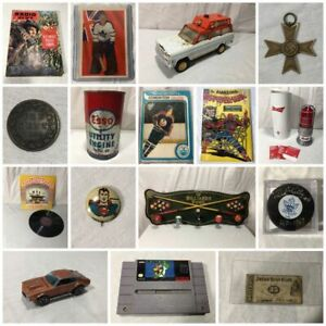 Awesome Collectibles Auction Ends Tonight