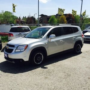 2012 Chevrolet Orlando PREOWNED CERTIFIED- 2.4L  4 cylinder 7 pa