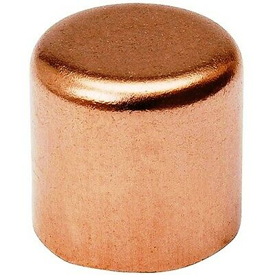 Bag Of 50 12 Copper Cap Sweat Solder Joint
