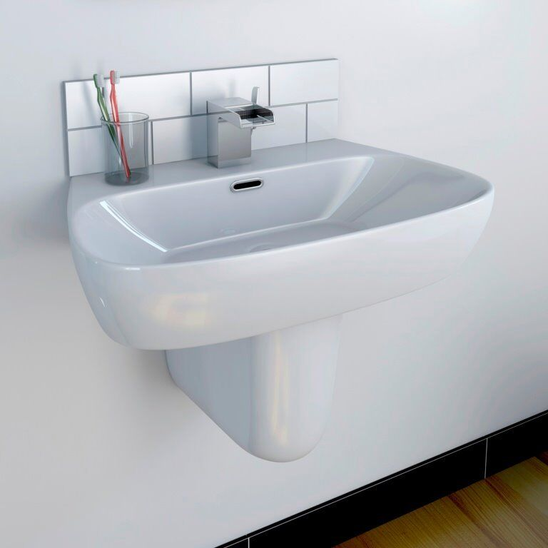 mini pedestal sink. Contemporary Bathroom Sink \u0026 Mini Pedestal Basin R