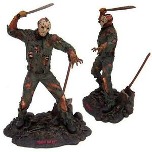 2003 NECA Reel Toys Jason Voorhees Friday 13th Statue en résine