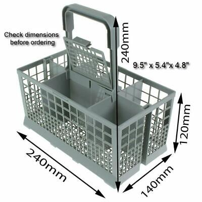 Dishwasher Silverware Basket Holder for Spoons, Forks, Knives, & Utensils
