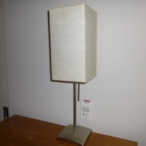 IKEA table lamp with paper shade - set of 2