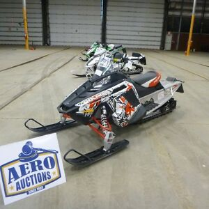 UP FOR AUCTION- SNOWMOBILES!