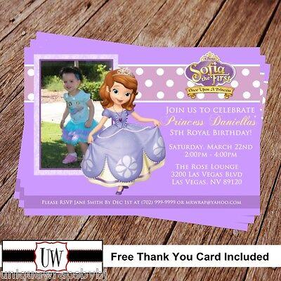 Sofia The First Invitations (Princess Sofia the First Birthday Invitation Printable, Princess Sofia the)
