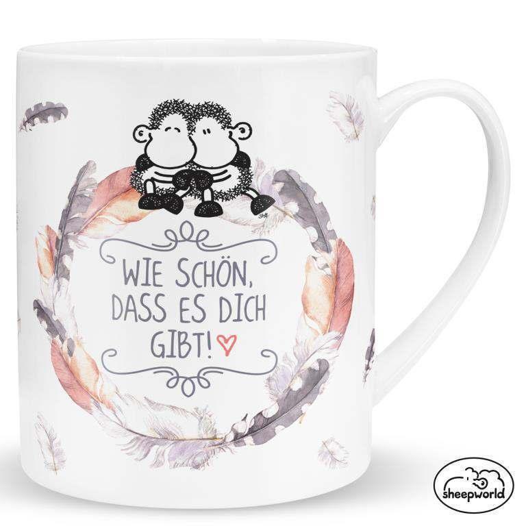 Sheepworld XXL Tasse 500 ml Jumbotasse Kaffeetasse Kaffeebecher Geschenk Freunde