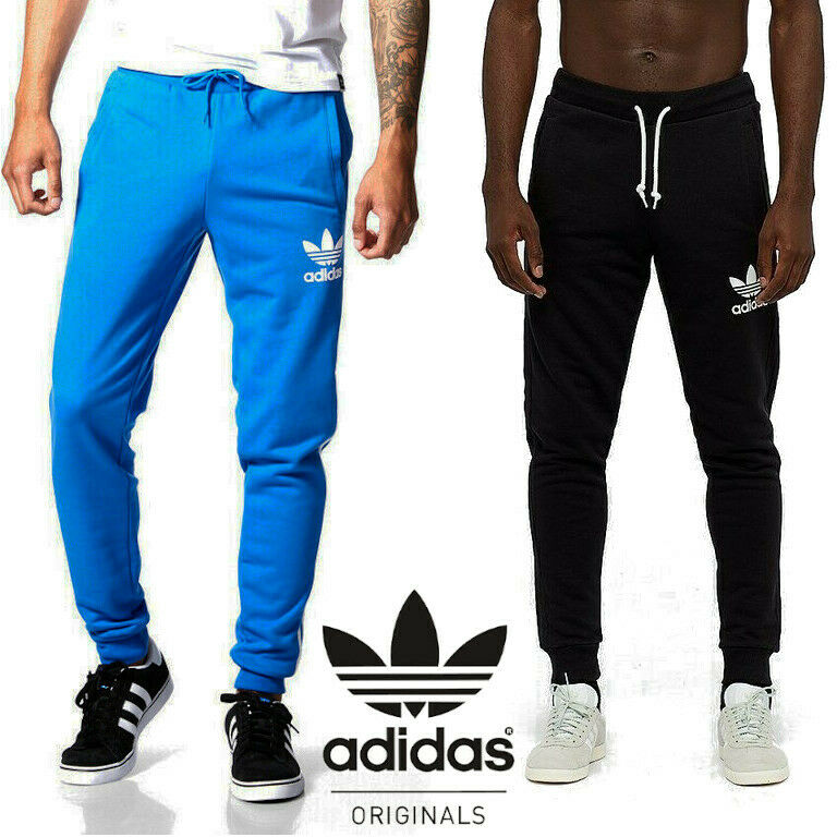 Adidas Originals Men's Trefoil Sweat Pants Trousers ? FREE NEXT DAY DELIVERY ?