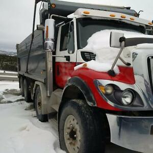 2009 International 7500 Twin Steer