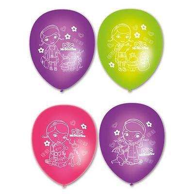 atex Ballons 6pk - Disney Geburtstag Partydekorationen (Doc Mcstuffins Geburtstag Dekoration)