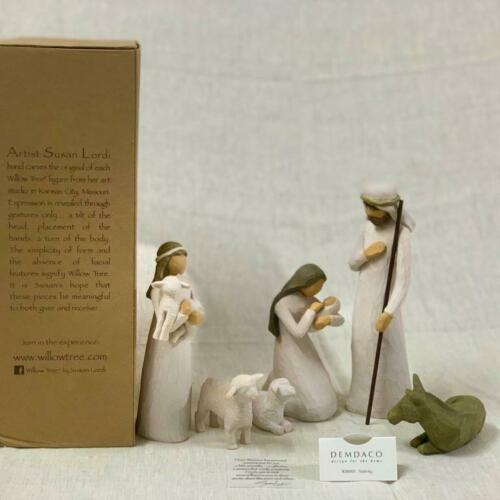 Willow Tree Nativity_sculpted hand-painted nativity figures| 6-piece set| 26005