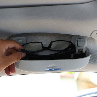 105942 Brillenfach Sonnenbrille Brille Halter zum STECKEN in GRAU für AUDI