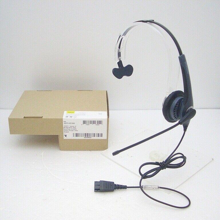 GN Netcom GN2010-ST Mono SoundTube QD Headset 2013-02-05 for GN1200 Smart Cord