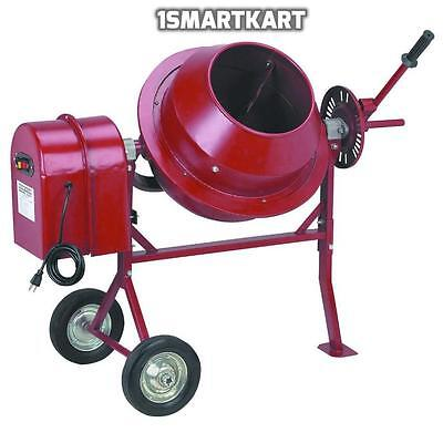 1-14 Cu Ft Electric Cement Concrete Stucco Mixer